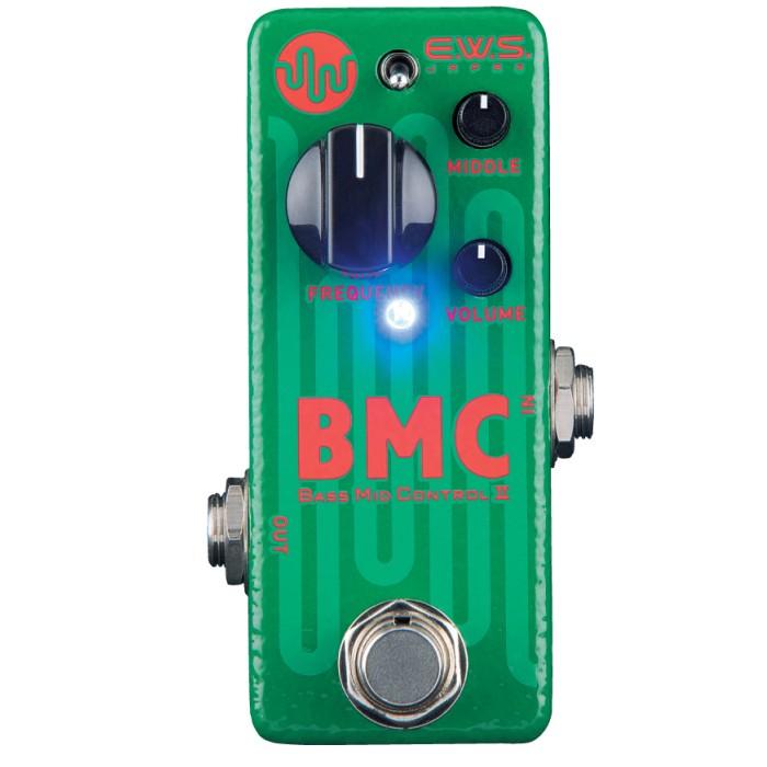 【DT】E.W.S. BMC2 Bass Mid Control 2 ベース用ミッドコントローラー