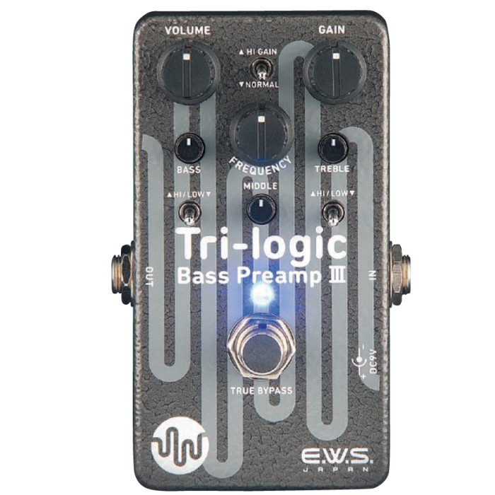 【DT】E.W.S. Tri-logic Bass Preamp 3 ベース プリアンプ