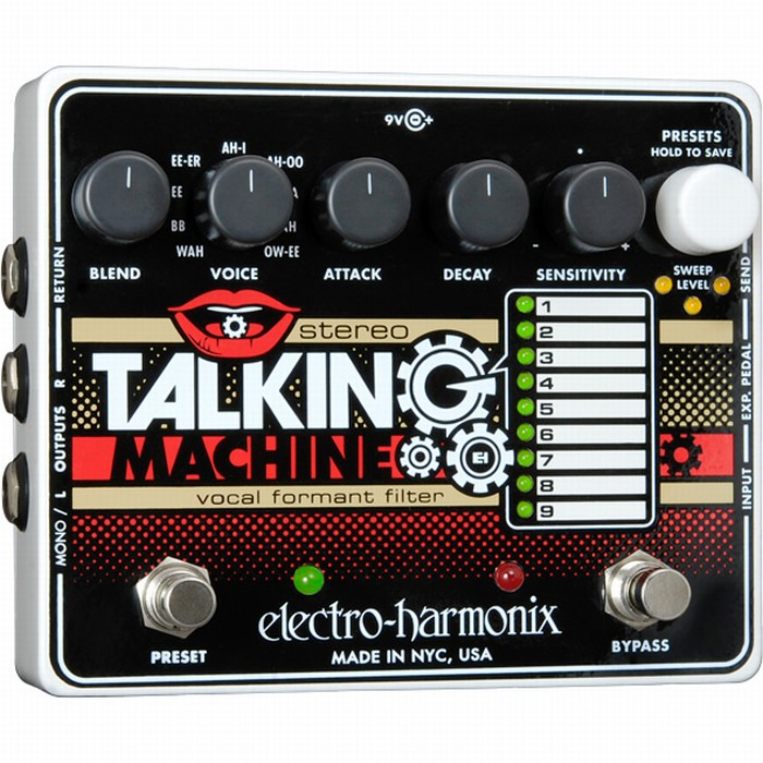 【DT】Electro-Harmonix Stereo Talking Machine トーキング モジュレーター