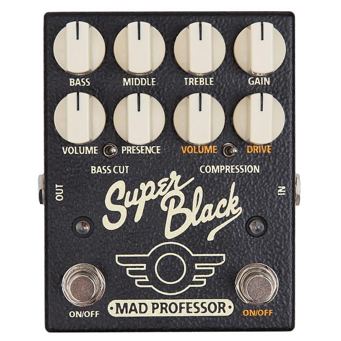【DT】Mad Professor Super Black プリアンプ/ブースター