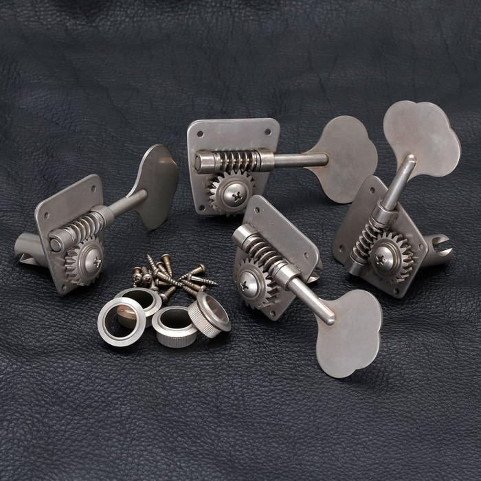【DT】Gotoh FB30 Aged Nickel L4 ベースペグ レリック/エイジング加工