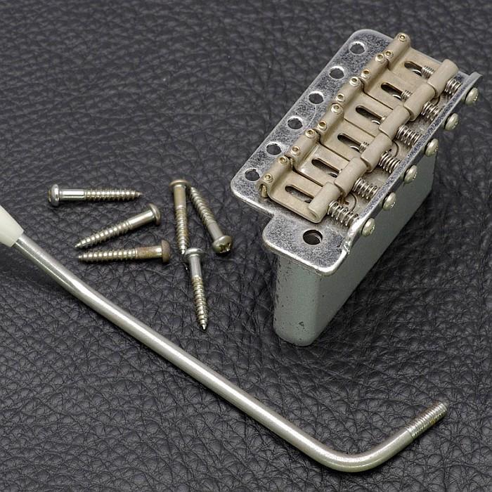 【DT】レフティ/左利き用 GE101TS-L Aged Nickel シンクロナイズド トレモロユニット レリック/エイジング加工 ニッケル