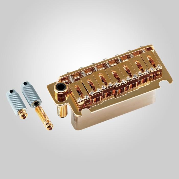 【DT】7弦用 Gotoh NS510TS-FE7-GG Gold シンクロナイズドタイプ トレモロユニット 7弦仕様