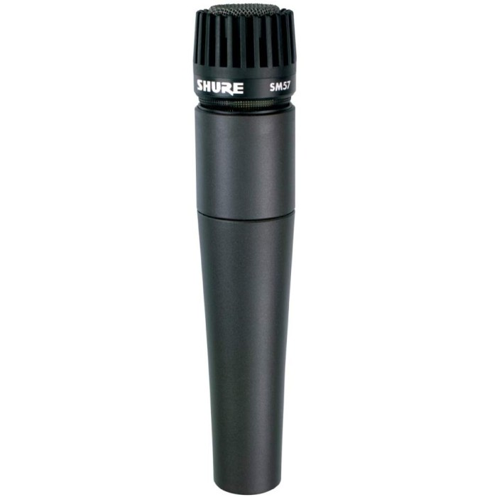 【DT】Shure SM57-LCE Dynamic Microphone 楽器用 ダイナミック マイクロホン