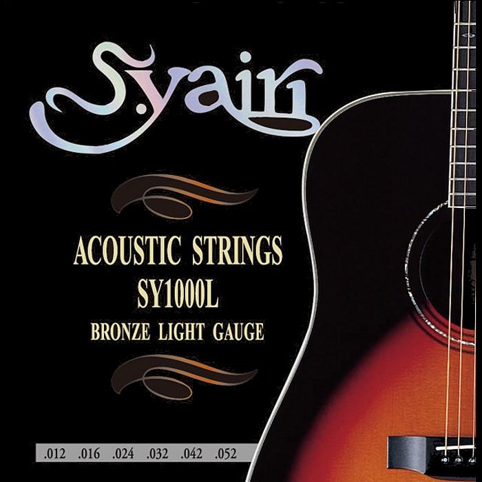 S.Yairi SY1000L Light 012-052 定番 80 20 100%品質保証 Sヤイリ アコギ弦 Bronze