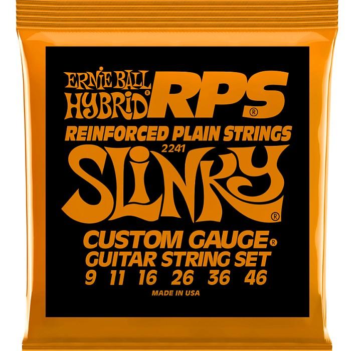 ERNIE BALL おしゃれ #2241 RPS Hybrid アーニーボール (訳ありセール 格安) エレキギター弦 Slinky 009-046