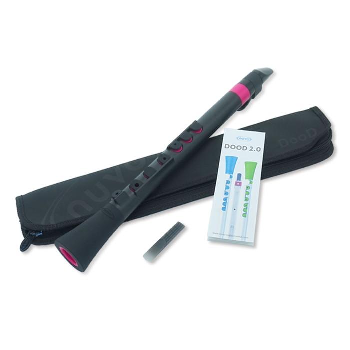 注目ブランド nuvo DooD 全店販売中 2.0 Black Pink サックス プラスチック製クラリネット ヌーボ