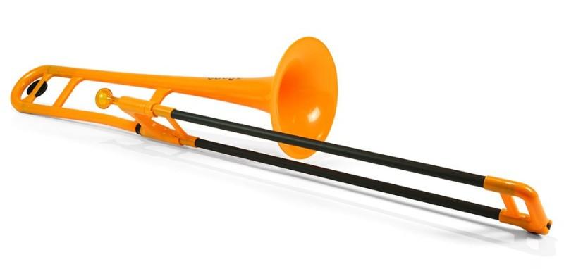 【DT】pInstruments pBone Orange プラスチック製トランボーン