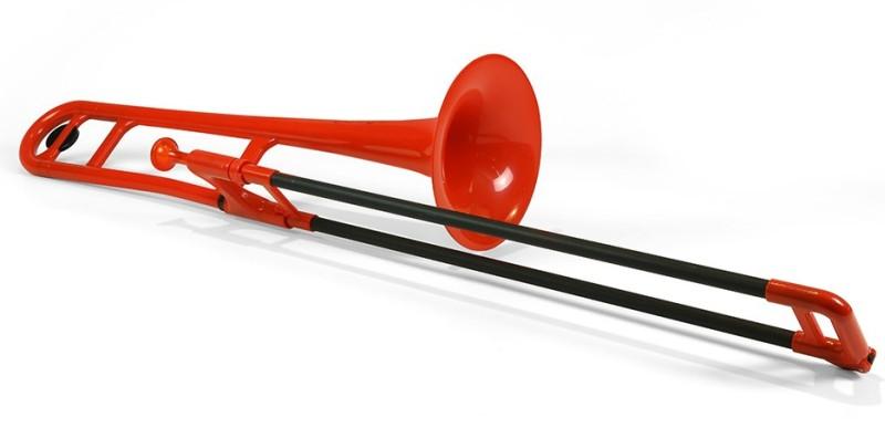 憧れ 【DT pBone】pInstruments pBone【DT】pInstruments Red プラスチック製トランボーン, 松伏町:35de290a --- canoncity.azurewebsites.net