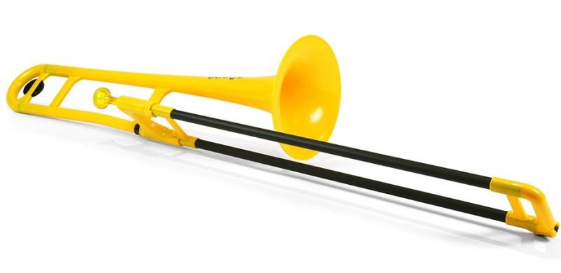 【DT】pInstruments pBone Yellow プラスチック製トランボーン
