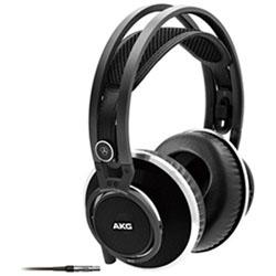 AKG 【ハイレゾ音源対応】 オープンエアー型ヘッドホン(ブラック) K812