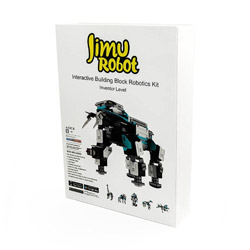 UBTECH 〔ロボットキット プログラミング学習:iOS/Android対応〕 Jimu robot Inventor Kit