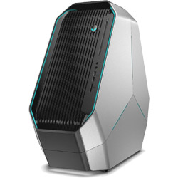 DELL(デル) ゲーミングデスクトップPC[Win10・Core i9・280GB SSD + 1TB HDD・メモリ16GB] ALIENWARE Area-51 R5 シルバー DA100VR-8NLCL (DA100VR8NLCL)