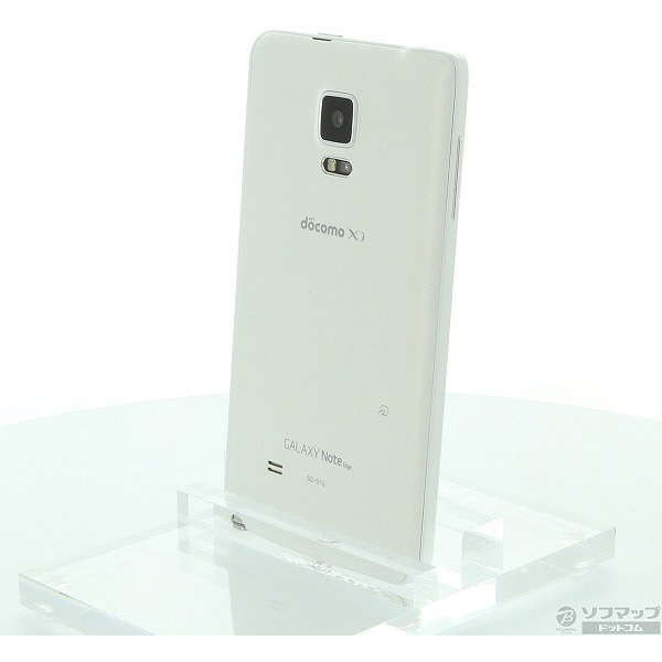 【中古】SAMSUNGGALAXY Note Edge 32GB フロストホワイト SC-01G docomo【291-ud】