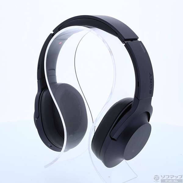 【中古】SONY(ソニー)h.ear on Wireless NC MDR-100ABN チャコールブラック【291-ud】