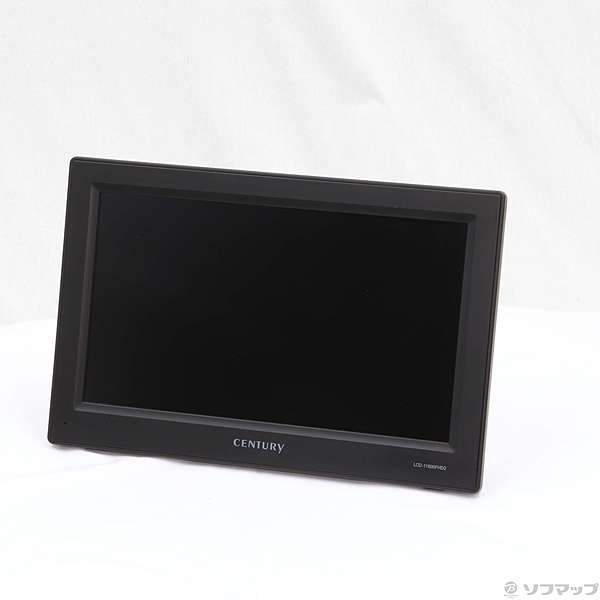 【中古】CENTURY 〔展示品〕 plus one Full HD LCD-11600FHD2 ブラック 【291-ud】