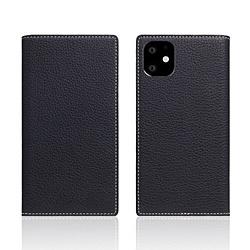 ROA iPhone11 Full Grain Leather Case Black Blue SD17918I61R