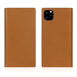 ROA iPhone11 ProMax Calf Skin Leather Diary Camel SD17964I65R