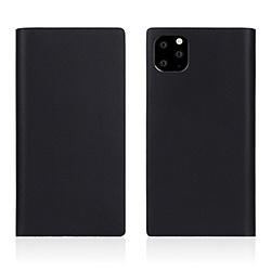 ROA iPhone11 ProMax Calf Skin Leather Diary Black SD17968I65R