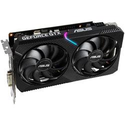 ASUS(エイスース) グラフィックボード DUAL-GTX1660S-O6G-MINI  [6GB /GeForce GTXシリーズ] DUALGTX1660SO6GMINI