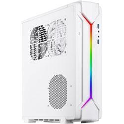Silver Stone SST-RVZ03W-ARGB (Mini-ITXケース/電源別売り/ホワイト) SSTRVZ03WARGB