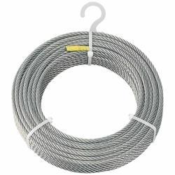 トラスコ中山 TRUSCO ステンレスワイヤロープ Φ8.0mmX20m CWS-8S20 CWS8S20