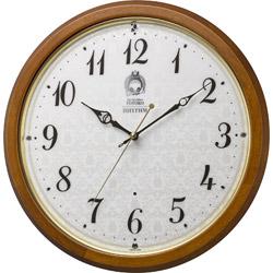 リズム時計 電波掛け時計 「トトロM534」 8MY534MN06 8MY534MN06
