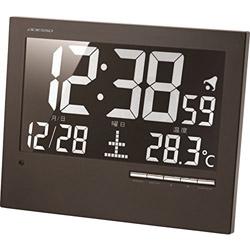 アデッソ 格安 価格 交渉 送料無料 壁掛け電波時計 AK62 ウォール電波クロック