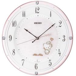 SEIKO 電波掛け時計 「ハイライン ハローキティ」 CS501P CS501P