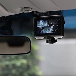 TOHO リアカメラ付き 360°ドライブレコーダー DX-DR360 [Full HD(200万画素) /前後カメラ対応] DXDR360