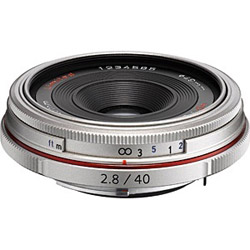 PENTAX(ペンタックス) カメラレンズ HD PENTAX-DA 40mm F2.8 Limited【ペンタックスKマウント(APS-C用)】(シルバー) HDPENTAXDA40MMF2.8LI
