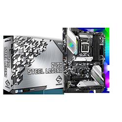 ASRock(アスロック) マザーボード Z490 Steel Legend  [ATX /LGA1200] Z490STEELLEGEND
