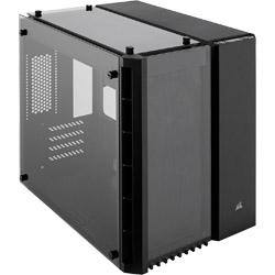 CORSAIR(コルセア) 280X Tempered Glass Black CC-9011134-WW (Micro-ATX対応キューブケース/電源別売り/ブラック) CC9011134WW
