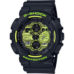 CASIO(カシオ) G-SHOCK(Gショック)Black and Yellow  GA-140DC-1AJF GA140DC1AJF