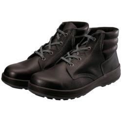 シモン シモン 3層底安全編上靴 WS22BK-25.0 WS22BK250