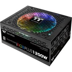 Thermaltake TOUGHPOWER DIGITAL iRGB PLUS 1200W PLATINUM PS-TPI-1200F2FDPJ-1 (80PLUS PLATINUM認証取得/1200W) PSTPI1200F2FDPJ1