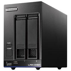 IO DATA(アイオーデータ) HDL2-X4(ブラック) ネットワークHDD 4TB[有線LAN/USB3.0・iOS/Mac/Win] 高性能CPU&NAS用HDD WD Red搭載 2ドライブ スタンダードビジネスNAS HDL2X4