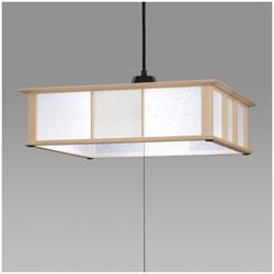 HITACHI(日立) LED和風ペンダントライト (~8畳) LEP-CA802EJ 昼光色 LEPCA802EJ