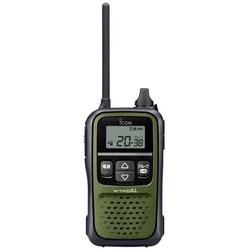 上等 アイコム 交互20ch対応 特定小電力トランシーバー ダークグリーン IC4110 スピード対応 全国送料無料 IC-4110G 1台