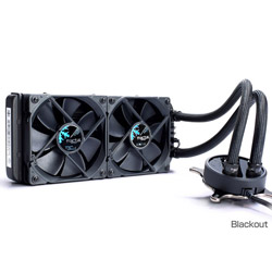 FRACTAL DESIGN(フラクタルデザイン) Celsius S24 Blackout FD-WCU-CELSIUS-S24-BKO (水冷一体型CPUクーラー/240mm/500~2000rpm) FDWCUCELSIUSS24BKO