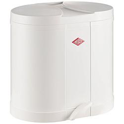 ウエスコ エコキッチンペダルビン&プラスチックライナー30L セパレートダブル ECO-DOUBLE BIN 170 ホワイト 170611-01 17061101
