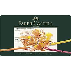ファーバーカステル Castell ポリ黒モス色鉛筆セット 110011