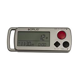 インテック 心拍・歩幅計測機能付歩数計S GRUS(グルス)  GRS002-02 GRS00202:ソフマップ店