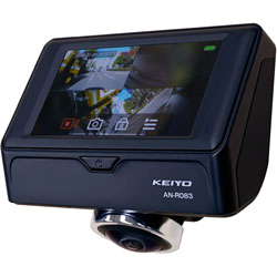 慶洋エンジニアリング 360°パノラマドライブレコーダー AN-R083 [一体型 /Full HD(200万画素) /駐車監視機能付き] ANR083