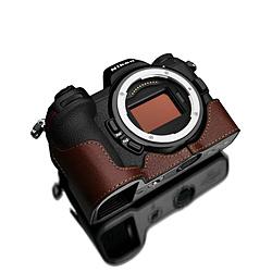 割引 GARIZ GARIZ ゲリズ ニコンZ6 GARIZ/Z7用本革カメラハーフケース ブラウン XS-CHZ6/7BR ブラウン XS-CHZ6 ブラウン/7BR ブラウン XSCHZ67BR, Trendy DECO:303b8ef9 --- celebssnapchat.com