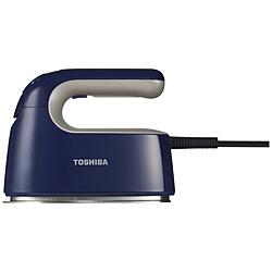 TOSHIBA(東芝) 衣類スチーマー TAS-V5BK-L インディゴブルー [ハンガーショット機能付き] TASV5BKL
