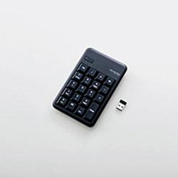 ELECOM エレコム 毎週更新 TK-TDM017BK ブラック ワイヤレステンキーパッド TKTDM017BK 2.4GHz 低廉 Win USB