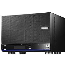 IO DATA(アイオーデータ) HDL6-H12 NASサーバー (6ドライブ/12TB(2TB×6)/ブラック/LANケーブル付属) HDL6H12 [振込不可]