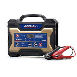ACDELCO 12Vバッテリー用 マイクロプロセッサー制御 全自動バッテリー充電器 AD-2002 AD2002