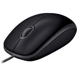 logicool(ロジクール) M110sBK マウス ブラック [光学式 /3ボタン /USB /有線] M110SBK